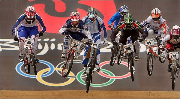 course bmx jeux olympique