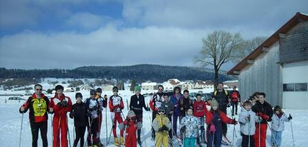 Sortie ski Arc sous Cicon